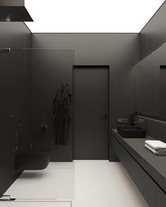 Interior Design Games, Black Interior Design, Interior Design Inspiration, Dream House Interior, Best Interior, Interior And Exterior, Exterior Design, Luxury Interior, Minimal Bathroom