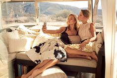 Selfie Service / Taylor Swift and Karlie Kloss / Photographed by Mikael Jansson, Vogue, March 2015