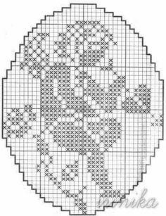 Bildergebnis für un'arte per creare filet pocket Stitch And Angel, Cross Stitch Angels, Beaded Cross Stitch, Cross Stitch Embroidery, Embroidery Patterns, Crochet Patterns, Filet Crochet, Crochet Diagram, Thread Crochet