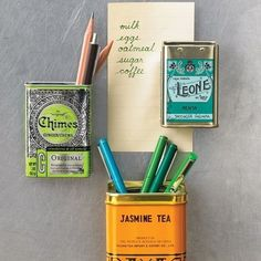 functional kitchen diy   functional fridge magnets out of cute containers.   21 Adorable DIY ...