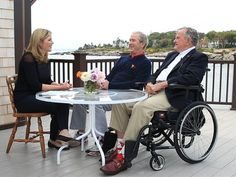 Just before Tuesday's release of President George W. Bush's biography of his father, President George H.W. Bush, his daughter Jenna Bush...