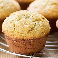 Bursting with bright flavors, these lemon poppy seed muffins use a blend of our gluten-free and almond flours for a light and tender texture.