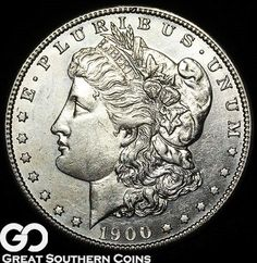 Morgan Silver Dollar Silver Coin, Better Date New Orleans Issue Us Coins, Rare Coins, Coin Books, Valuable Coins, Key Dates, Proof Coins, Dollar Coin, Morgan Silver Dollar, Half Dollar