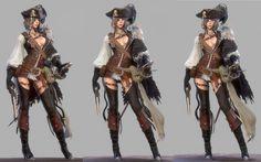 ArtStation - Pirate, Lee Yong Hyun