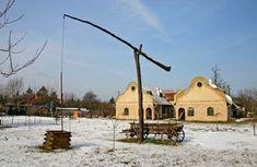 winter in Vojvodina village