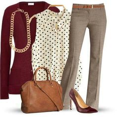 Love everything about this working girl outfit. Color, style, the fact that I could use the top pieces in a different more casual outfit. Business Casual Outfits, Professional Outfits, Business Attire, Business Chic, Business Fashion, Business Formal, Casual Attire, Office Attire, Business Casual Womens Fashion