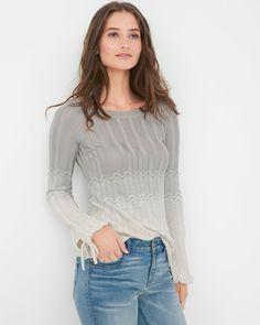 Ombre Chevron Sweater
