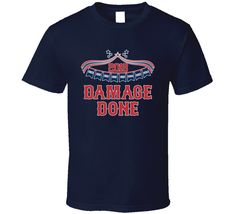 Damage Done Winning Years Boston Baseball Fan T Shirt this design is printed on a quality cotton t shirt using the latest DTG (Direct to Garment) printing technology. Boston Baseball, Damage Done, Cafe Racer Helmet, Baseball Equipment, Are You The One, Shirt Style, Fan, Mens Tops, T Shirt