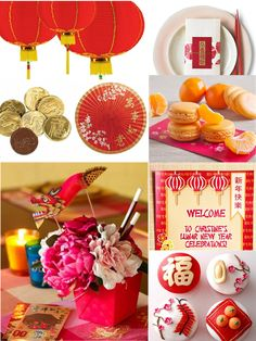 Bird's Party Blog: Chinese New Year Party Ideas