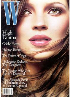 Kate Moss in W
