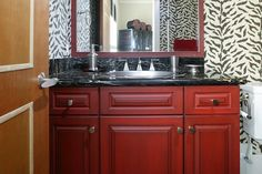 A master bathroom with a whirlpool tub, a rainfall showerhead, heated floors and his and her sinks is great for some, but oftentimes, space and budget concerns bring most of us back down to earth.
