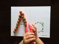 Activity for ages 3 to 5. Pumpkin letter tracing is a fun fallABC game and fine motor activity in one. As kids trace alphabet letters with candy pumpkins, they build hand-eye coordination, hand strength and letter formation skills they'll use for writing words later. Pumpkin fans will love this festive ABC game! ABC GamePrep  …