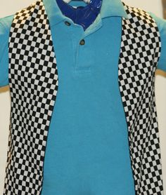 Checkered Vest.  Available on www.leasparlor.com