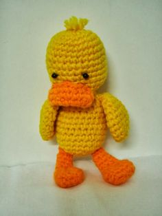 amigurumi free patterns | ... free pattern this pretty amigurumi duck is so cute i loved the pattern