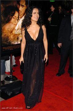 Salma Hayek Ball Dresses, Sexy Dresses, Hispanic Actresses, Telenovela Teresa, Salma Hayek Pictures, Penelope Cruz, Julia Roberts, Sandra Bullock, Angelina Jolie