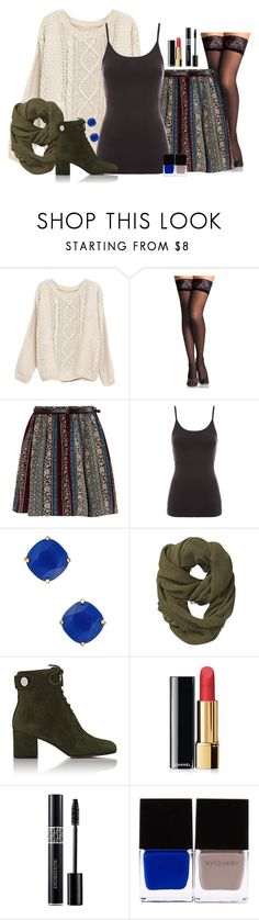 """""""Untitled #729"""" by goddess-of-moonlight ❤ liked on Polyvore featuring Jane Norman, Kate Spade, Athleta, Gianvito Rossi, Chanel, Christian Dior and Witchery"""