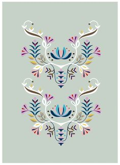 DESIGN / Flowers series - French Twins