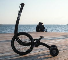 halfbike II redesigns bicycle to make a more intuitive, full body ride