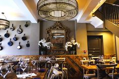 ~ A fresh approach ~ Henry Ascoli samples Guildford's new eatery making an instant impression. Tapas Restaurant, Food Reviews, Surrey, Table Settings, Fresh, Drink, Home Decor, Beverage, Table Top Decorations