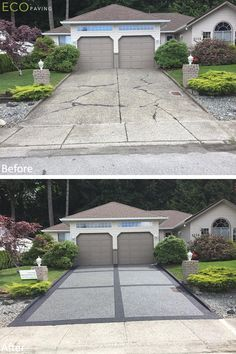 BC Eco Paving is your one stop solution for driveway paving, driveway resurfacing, installation and maintenance. Driveway resurfacing protects your driveway. Driveway Paint, Stamped Concrete Driveway, Diy Driveway, Driveway Repair, Driveway Design, Driveway Landscaping, Concrete Driveways, Concrete Patio, Driveway Ideas
