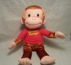 6461aecd4e Curious George Stuffed Animal Plush Monkey Toy Doll by Kellytoy Curious  George Stuffed Animal