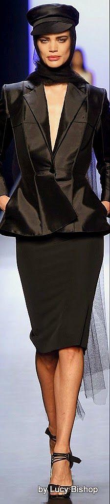 Jean Paul Gaultier Spring Summer 2015 Haute Couture ~ PFW