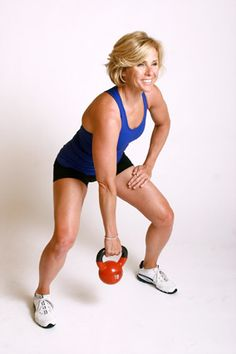 """""""Make Your Workout Swing with a Kettlebell"""" by Andrea Metcalf for Oprah Magazine. Adding a kettlebell is a great way to build your core strength while switching up your boring workout. The secret is in the swing!"""