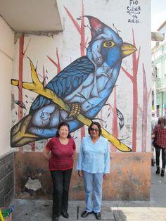 Arte urbano de Fio Silva - Argentina
