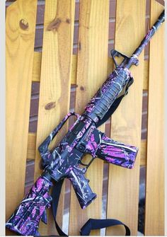 Muddy Girl Camo AR...so it isnt for hunting..but its still pretty awesome!