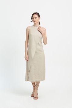 Affordable Fashion, High Neck Dress, Spring Summer, Dresses For Work, Clothes, Turtleneck Dress, Outfits, Clothing, Kleding