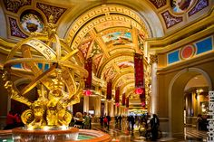 The Venetian is easily one of the most beautiful Hotels on the Strip!