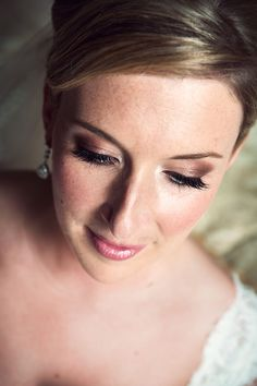 Bridal Makeup www.glamourbydawn.com Bridal Makeup, Pearl Earrings, Pearls, Jewelry, Fashion, Jewellery Making, Pearl Studs, Jewlery, Jewelery