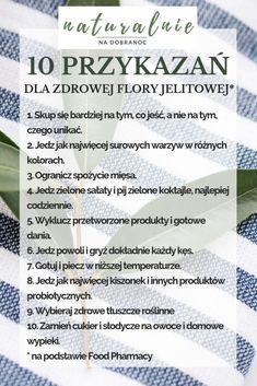 10 przykazań dla zdrowej flory jelitowej Personalized Items, Diet