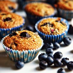 This classy #blueberry #muffin can better any bad day!