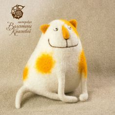 .yellow spotted kitty