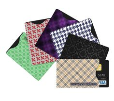 RFID Blocking Sleeve Set Offers Secure Protection from Identity ID Theft and Credit Card Fraud, (6) BLOCKIT Sleeve Holders fit all Wallet Cards Slots, Exclusive