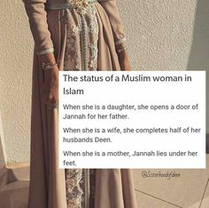 Women in Islam Muslim Couple Quotes, Muslim Quotes, Religious Quotes, Muslim Couples, Women In Islam Quotes, Islam Women, Beautiful Islamic Quotes, Islamic Inspirational Quotes, Islamic Qoutes