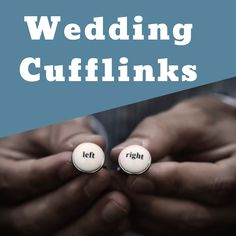 Wedding day just around the corner? At Cuffed, we have a wide range of wedding cufflinks for everybody at your wedding! From cut out styles to chunky engravable cufflinks, you can be sure to find the cufflinks of your dreams. #wedding #cufflinks #groom #bestman #fatherofbride #accessories