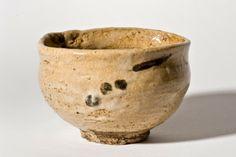 Karatsu Tea Bowl. Glazed Pottery. Edo Period, Circa 1615-1868. 7.5cm x 12cm.