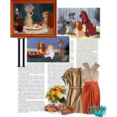 Lady and the Tramp, created by ingrid on Polyvore