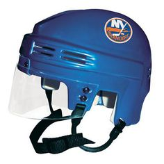 Official Licensed Mini Player Helmets - Ny Islanders