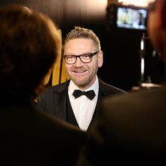 Kenneth Branagh in the press room at @royalalberthall.  @darrenphotog #olivierawards #theatre #london #backstage