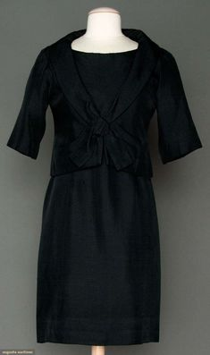 Augusta Auctions, March 21, 2012 NYC, Lot 295: Dior Couture Afternoon Ensemble, Spring 1959