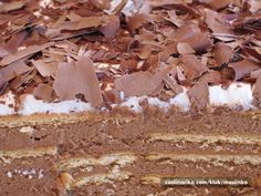 Keks torta — best stuff ever! Bosnian Recipes, Croatian Recipes, Delicious Desserts, Yummy Food, Banana Bread Muffins, Kolaci I Torte, Ice Cream Candy, Romanian Food, Thanksgiving Recipes