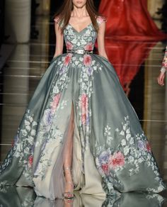 Zuhair Murad Haute Couture Spring 2016.Paris Fashion Week.