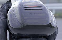 backpack by Porsche  From the FastCoDesign Porsche design contest, very cool