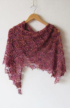 Ravelry: Archangel crochet lace shawl pattern by Katya Novikova