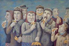 Картины Владимира Любарова (Vladimir Lyubarov). Ни что так не заставляет улыбнуться или огорчиться, как взгляд на себя со стороны. Ведь, люди устроены так, что в первую очередь обращают внимание на других, а уж потом - в лучшем случае на себя любимых. Удостовериться в этом, помогут замечательные работы Владимира Любарова (Vladimir Lyubarov), в которых застыли самые разнообразные жизненные ситуации из повседневных будней большинства. Так что, в этих казалось бы шуточных, но в тоже время таких…