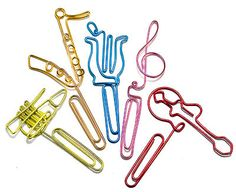 Let me just say this before you scroll down, paper clips are ultimate. Paper clips a… Cute Stationary, Music Paper, Origami, Cool Things To Make, How To Make, Rare Birds, Trombone, Wire Crafts, Wire Art