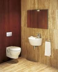 """Résultat de recherche d'images pour """"petite salle de bain grise et orange"""""""